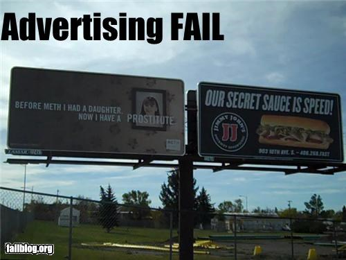 ads billboard drugs failboat juxtaposition sandwiches secret sauce - 4224042752