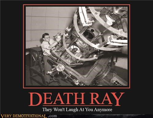 death ray nerds pointdexter science