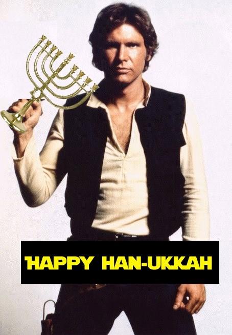 Han Solo,hanukkah,star wars,puns