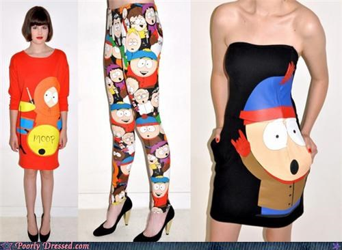 cartoons,fashion,model,South Park