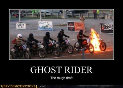 comic books ghost rider motorcycles movies nicholas cage racing wtf