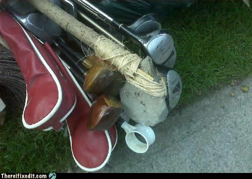 golf rocks sports wtf - 4225558784