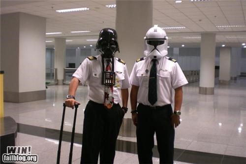 airport,nerdgasm,pilots,star wars