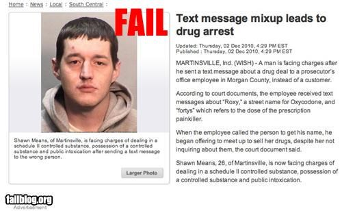 bad idea deal drugs failboat mobile phone Probably bad News texts - 4225762048