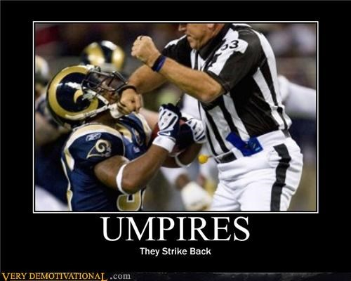 epic,football,punching,strike back,umpires