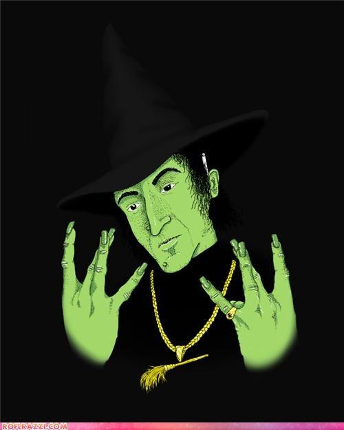 art funny wicked witch witch wizard of oz - 4226099712