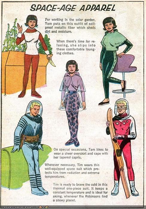 art fashion funny illustration retro space - 4226110208