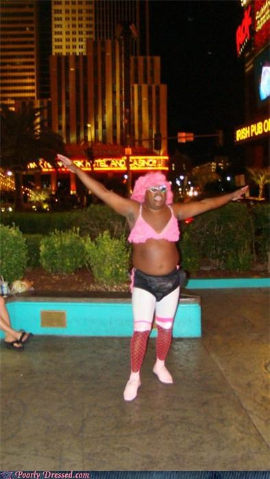 city cross dresser pink wig - 4226270976