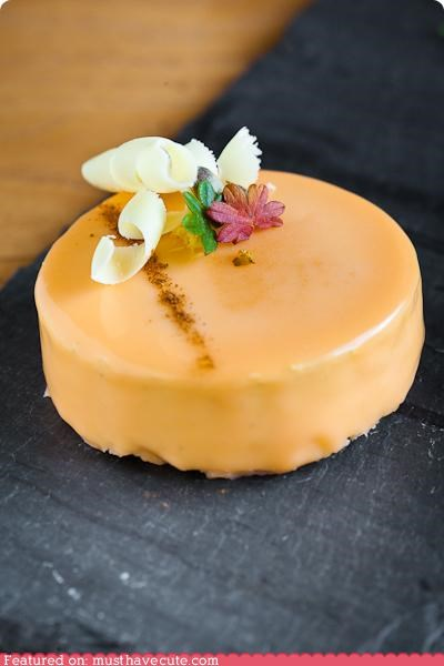 cake,epicute,mousse,orange,pumpkins,white chocolate
