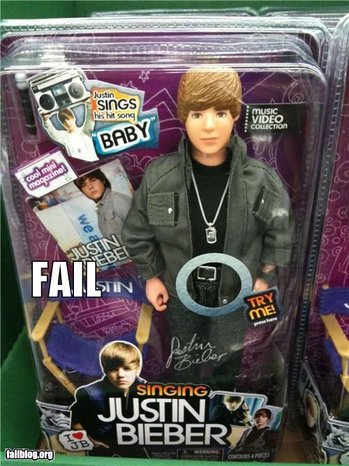 failboat justin bieber placement poor planning shopping toys try me - 4226468864