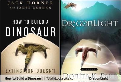 book covers books covers dragonlight how to build a dinosaur - 4227933952