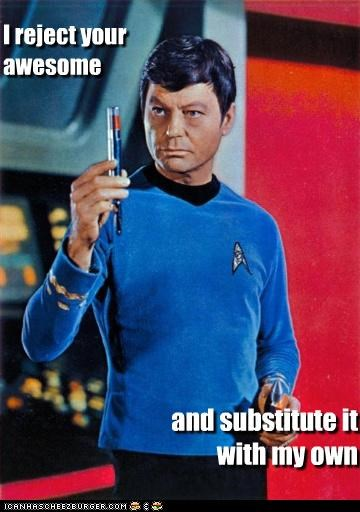 DeForest Kelley funny Hall of Fame lolz sci fi Star Trek - 4228163072