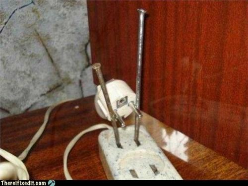 cautionary fail,dangerous,electricity