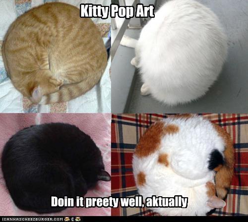 Kitty Pop Art Doin it preety well, aktually