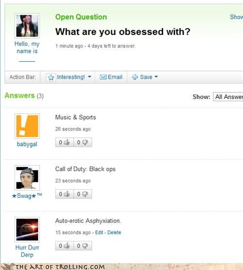 obsessions yahoo answers funny - 4231879680