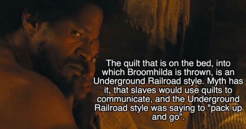 "Collection of fun movie facts from Quentin Tarantino's, ""Django Unchained"" movie."