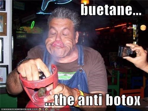 buetane... ...the anti botox