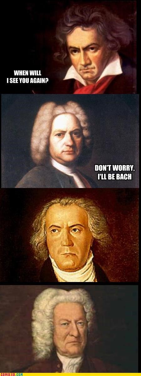 Bach classical music lol Music puns the internets - 4233113600