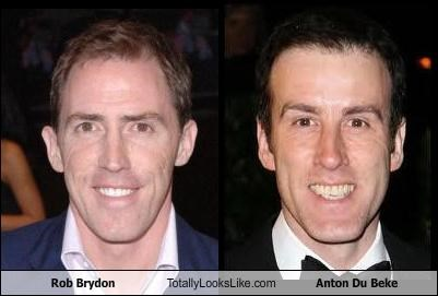 actor anton du beke British comedian dancer rob brydon