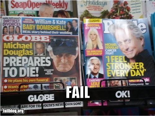 cancer celeb failboat g rated headlines magazines tabloids - 4233776384