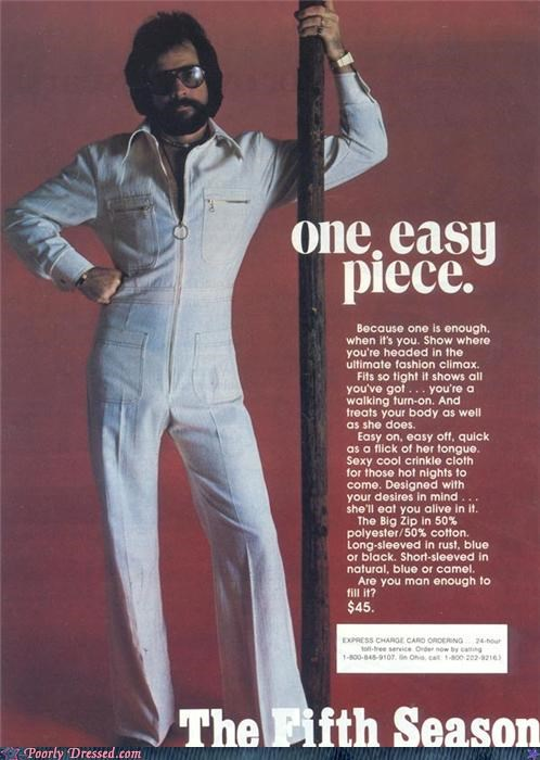 70s beard jumpsuit speed suit Venture Bros