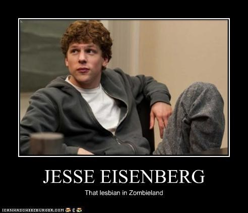actor celeb demotivational funny jesse eisenberg lolz - 4233904896