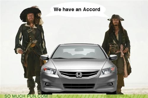 accord,barbosa,black pearl,civic,comparison,exchange,jack sparrow,Johnny Depp,literalism,Pirates of the Caribbean,vehicle