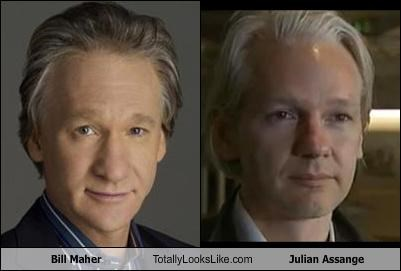 bill maher comedian Hall of Fame julian assange wikileaks