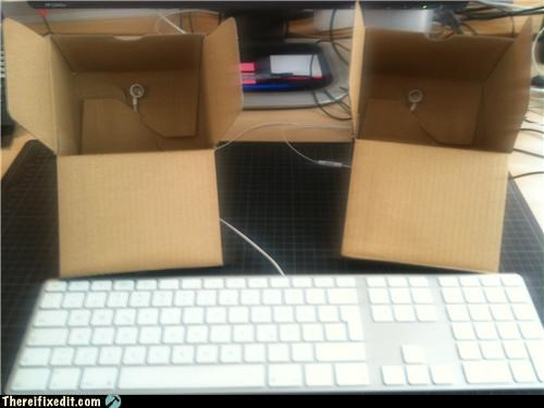 Apple product,cardboard box,speakers,youre-sciencing-it-wrong