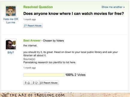 piracy yahoo answers funny google - 4235428608