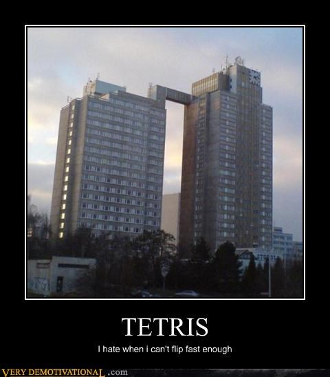 awesome bad gamers building IRL tetris Videogames - 4235510016