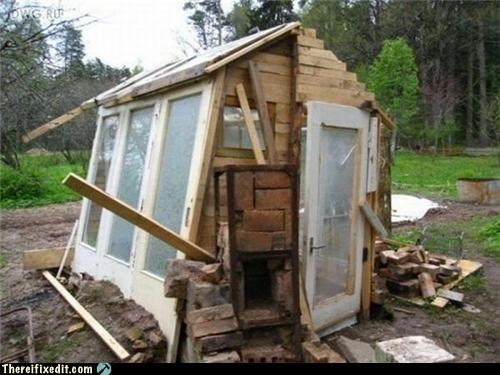 cautionary fail,construction,shed,storage