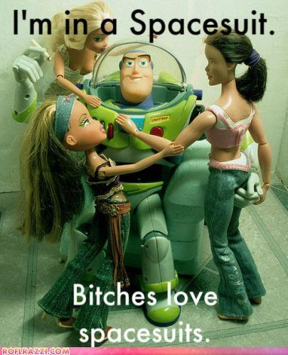 Barbie buzz lightyear disney funny meme - 4235978752