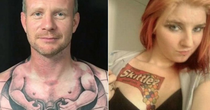 Terrible Tattoos From People Who Really Should Have Used Better Judgement