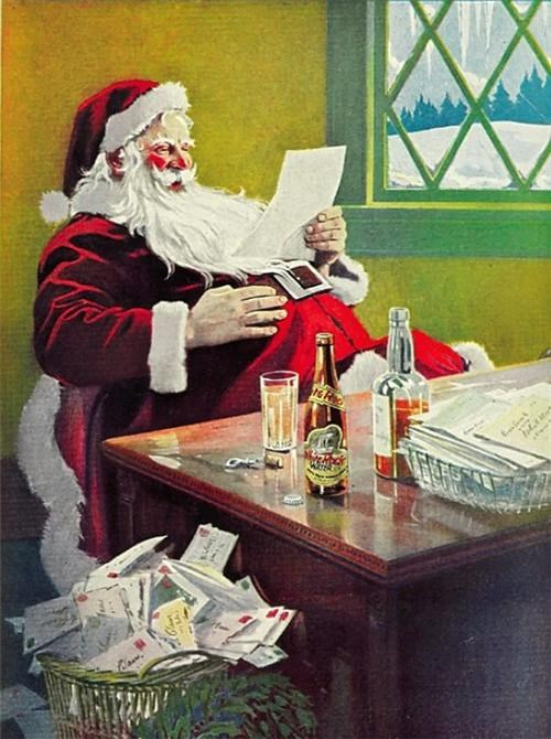 alcohol,drunk,listing,santa