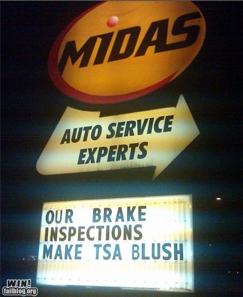 awesome at work signs TSA - 4236225024