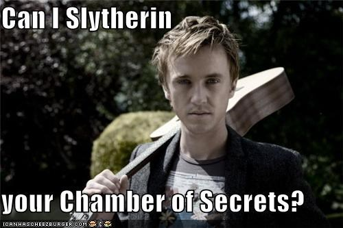 Can I Slytherin your Chamber of Secrets?