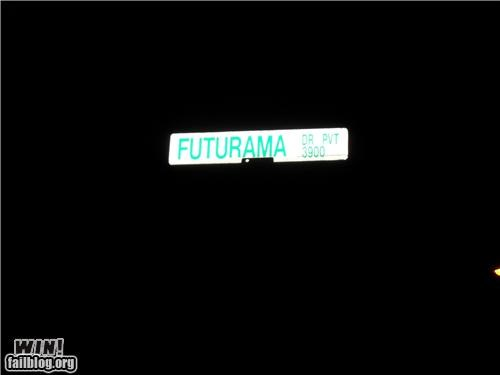 futurama,road signs,television