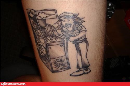 celeb comedy tats portraits video games
