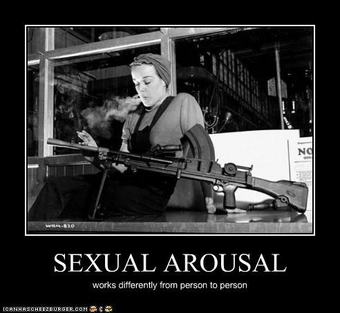 demotivational,funny,Photo,photograph,weapon,woman