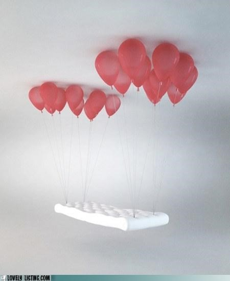 Balloons bench diet floating furniture magic skinny - 4237357824