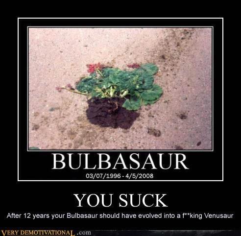 bulbasaur Death Pokémon recursion sad but true - 4237714432