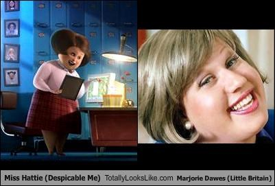 British despicable me Little Britain Majorie Dawes Matt Lucas miss hattie movies TV