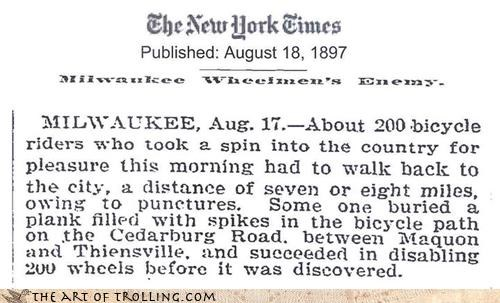 19th century,milwaukee,new york times,newspaper,old times,trolleth
