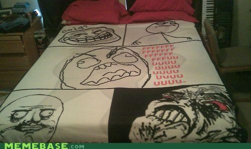 bedspread,cool face,fu guy,internet irl,me gusta,The Internet IRL