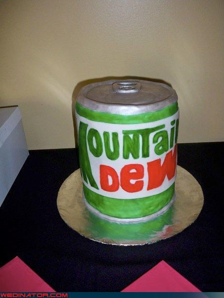 crazy groom,Dreamcake,eww,funny-grooms-cake,funny wedding cake picture,funny wedding photos,groom,mountain-dew-grooms-cake,mountain dew themed wedding cake,surprise,technical difficulties,terrible-grooms-cake,terrible wedding cake,ugly-grooms-cake,Wedding Themes,wtf,wtf is this