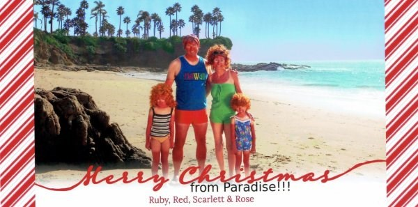 funny family Christmas cards