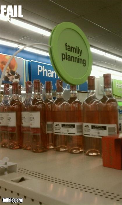 alcohol failboat family grocery innuendo planning pregnancy signs wine - 4240050432