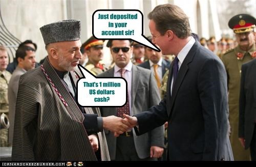 That's 1 million US dollars cash? Just deposited in your account sir!