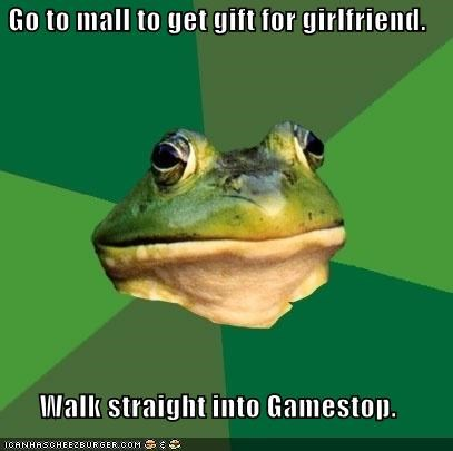 foul bachelor frog gamestop girlfriend - 4240728320